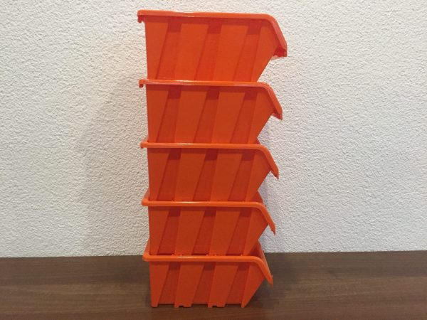 "XXL90 Garage Bin Organizer with its 60"" x 31"" overall dimensions includes 90 plastic storage containers in 2 sizes. It is the best value for organizing your bolts, nuts and other tools in the garage, workshop or workspace."