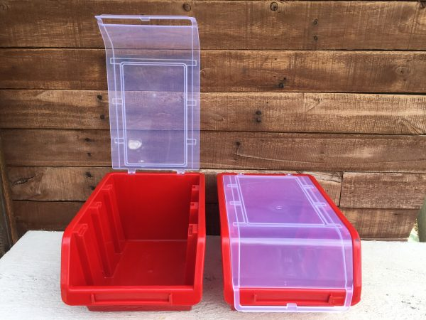 "9"" Industrial Storage Bin with Lid"
