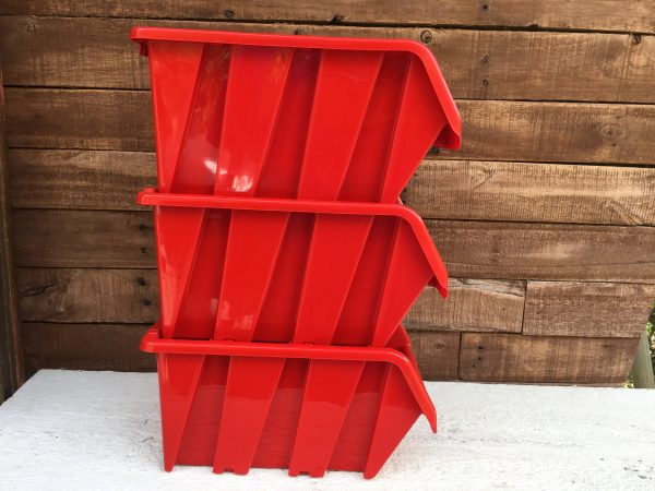 "9"" Stackable Inventory Bin"