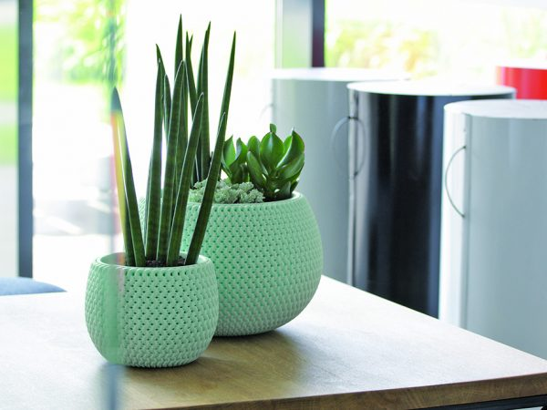 Pouf Bowl Planter