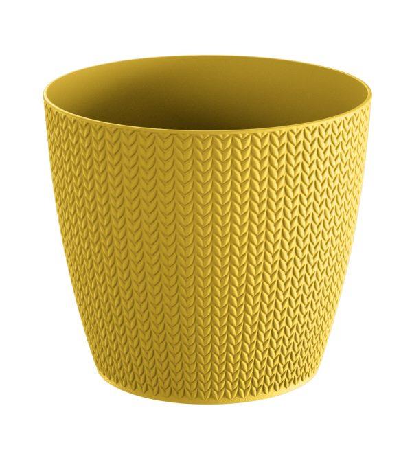 A simple but very attractive design pattern of the Barley Round Flower Pot will give your home a new beautiful style. You can choose from various modern colors and sizes.